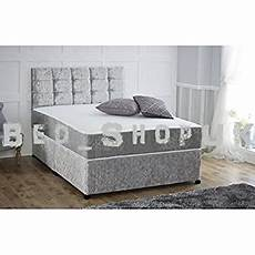 4ft6 divan sleepkings bed base in italian crushed