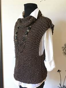 s knit sweater vest knitting project by lena t