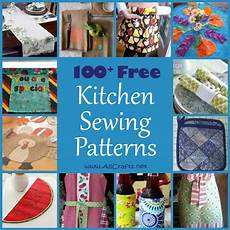 100 free kitchen and dining sewing patterns allcrafts