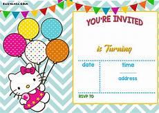 Design Invitations Online Free Printable Free Personalized Hello Kitty Birthday Invitations Free
