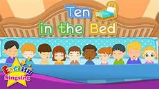 ten in the bed number song counting song learn