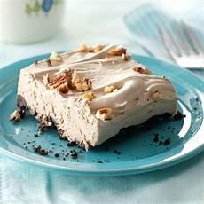 creamy mocha frozen dessert recipe taste of home