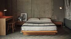 kyoto japanese bed with headboard bed company