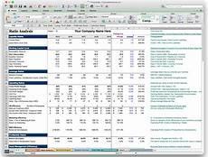 Financial Analysis Excel Template Business Plan Financial Model Template Bizplanbuilder