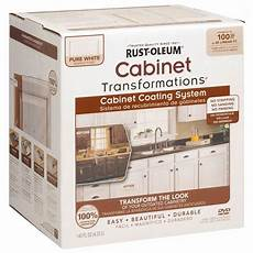 rust oleum transformations 1 qt white cabinet small