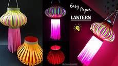 Making Diwali Lights Paper Kandil How To Make Paper Lantern Diy Paper Lamp