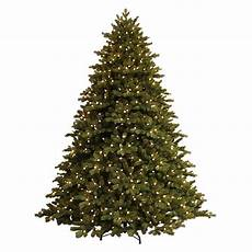 7 5 Foot Dual Light Christmas Tree Ge 7 5 Ft Just Cut Norway Spruce Ez Light Artificial