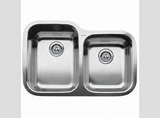 "Blanco Supreme Inset/Flushmount 1 3/4"" Double Bowl Sink"