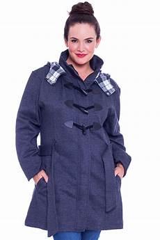 toggle coats size 20 new womens jacket duffle coat toggle warm plus size