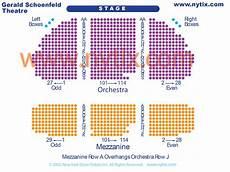 Gerald Schoenfeld Theatre Seating Chart Gerald Schoenfeld Theatre On Broadway In Nyc