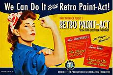 retro plakat retro paint act ps kit photoshop add ons