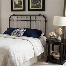fashion bed vienna king size headboard with metal