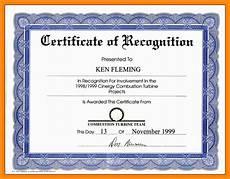Template Of Award Certificate Certificate Wording Certificates Templates Free