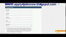 Easy Online Applications Jobs How To Apply For A Job Online Youtube