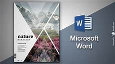 How To Create A Cover Page Create Cover Page In Microsoft Word Natural Magazine