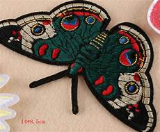 patches for clothes 1pcs big butterfly flower embroidery sewing or iron on