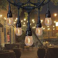 Commercial Outdoor String Lights Honeywell 24 Commercial Grade Led Indoor Outdoor String