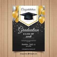 Design Graduation Invitations Online Free Classic Graduation Invitation Template With Realistic