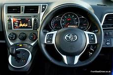 2012 Toyota Dashboard Lights Toyota Verso S 2012 Dashboard Front Seat Driver