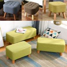 soft pouffe padded footstool ottoman upholstered foot
