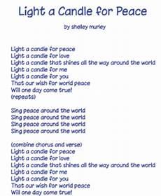 Light A Candle For Peace Montessori Sing Peace Around The World Montessori Children Singing