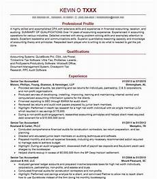 Ernst And Young Resume Sample Senior Tax Accountant Resume Example Ernst And Young Llp