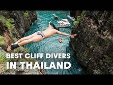 highest cliff dive the best cliff divers in the world compete in thailand