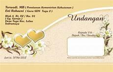 contoh undangan nikah cantik contoh isi undangan