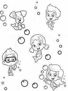 Coloring Pages Bubbles 5 Cute Bubble Guppies Coloring Pages Big Bang Fish