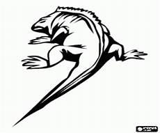 ausmalbilder reptilien malvorlagen 2