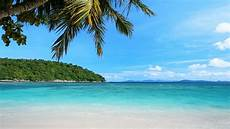 peaceful tropical beach stock footage video 100 royalty