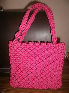 maha arts crafts macrame purse