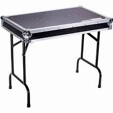 Foldout Table Deejay Led Universal Foldout Dj Table With Locking Pins