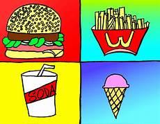 Pop Art Food Fast Food Pop Art By Buttercupbutch On Deviantart