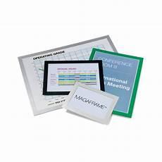 cornici a4 cornici adesive magaframe durable a4 verde 4872 05