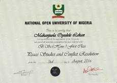 First Class Honors First Class Honours Degree After 27 Year Academic Setback