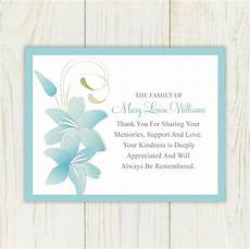 Condolences Thank Yous Sympathy Thank You Card Printable By Eloycedesigns On Etsy