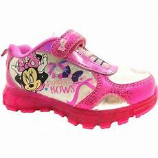Minnie Mouse Shoes With Lights Nwot Disney Girls Light Up Minnie Mouse Shoes Sneakers