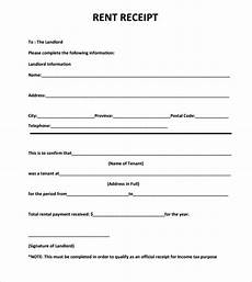 Monthly Rent Receipt Format Monthly House Rent Payment Receipt Template Sample For