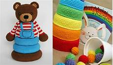 stacking toys free crochet patterns