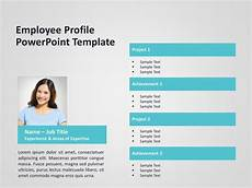 Profile Template Employee Profile Powerpoint Template 4 Employee Profile