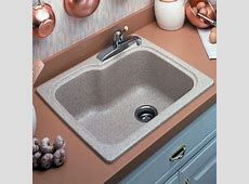 Swanstone KSSB 2522 015 Single Bowl Kitchen Sink   Black Galaxy ( Pictured in Tahiti Sand