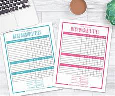 Make Your Own Chart Online For Free The Best Way To Make A Chore Chart In 2019 Free Printable