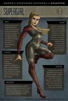 Superhero Costumes Designed Like Female Female Superhero Costumes Given Practical Redesigns