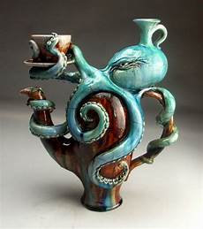 Ceramic Sculpture Artists Geek Art Gallery Sculpture Creepy Aquatic Ceramics