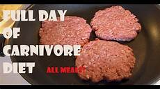 day of on a carnivore diet