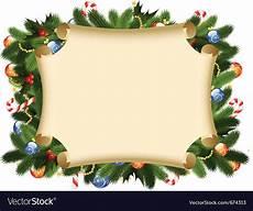Christmas Card Borders Free Christmas Card Border Royalty Free Vector Image