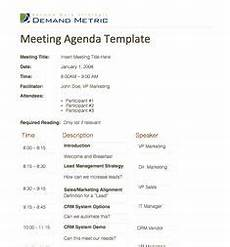 Office Meeting Topics Meeting Agenda Template My Office Pinterest