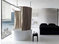 tenda doccia per vasca lino trattato e un sistema originale per la tenda vasca
