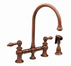 Antique Kitchen Faucets Whitehaus Whkblv39101bn Vintage Iii Kitchen Faucet Two